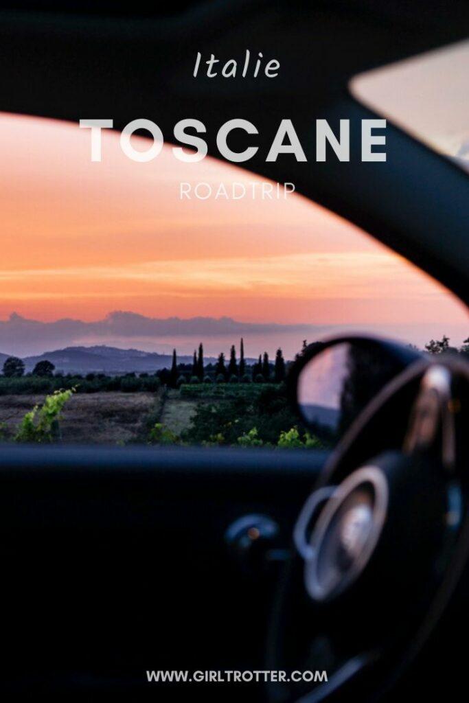 Roadtrip Toscane Italie