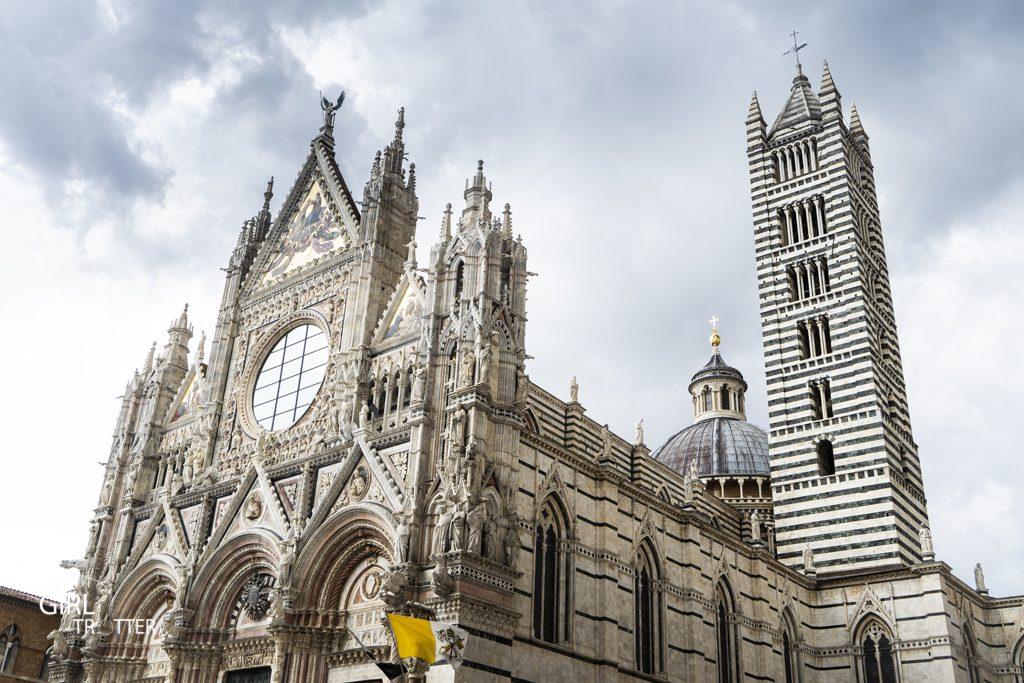Sienna Duomo - Cathédrale Sienne Toscane Italie