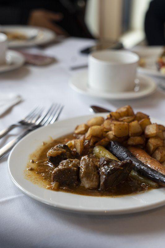 Brunch à La Traite restaurant de l'Hôtel-Musée Premières Nations à Wendake Québec