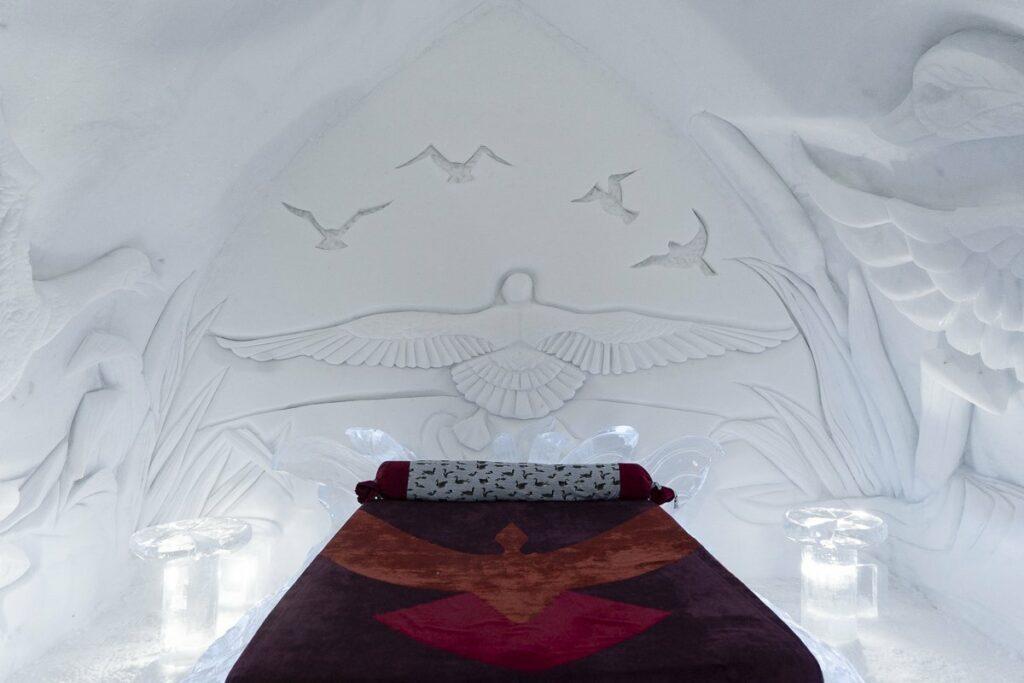 Dormir à l'Hôtel de glace de Québec