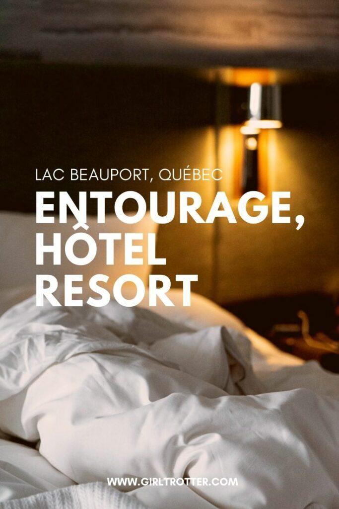 Dormir à l'Hôtel Resort Entourage sur le lac de Lac Beauport proche Québec