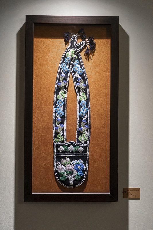 Inspiration décoration huron wendat Premières Nations à l'Hôtel-Musée de Wendake proche de Quebec Cité