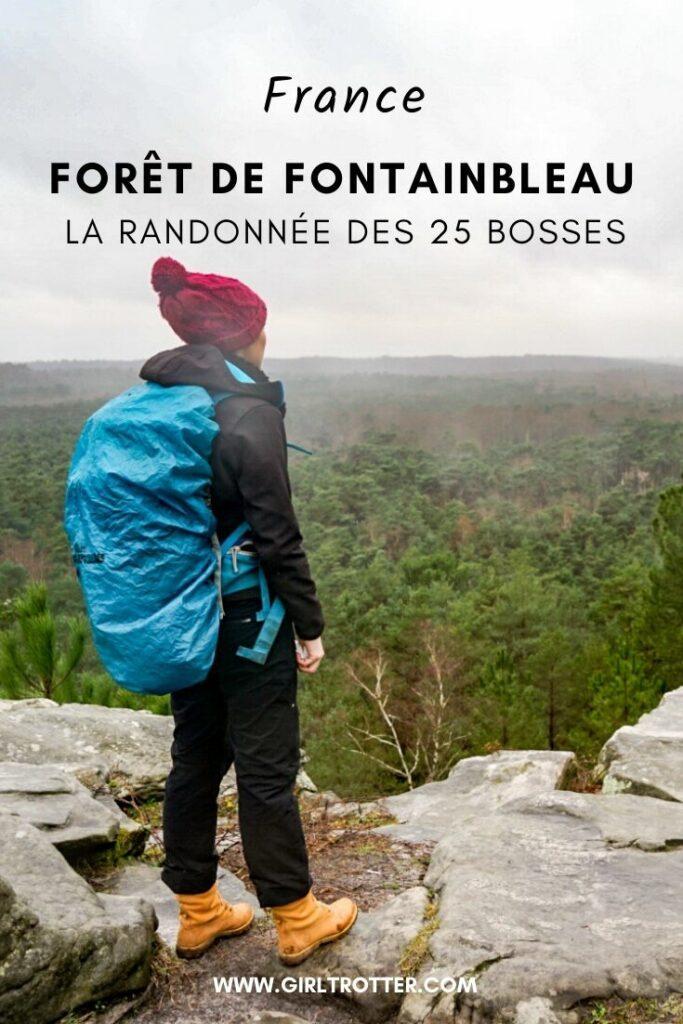 Randonnée des 25 bosses de Fontainbleau