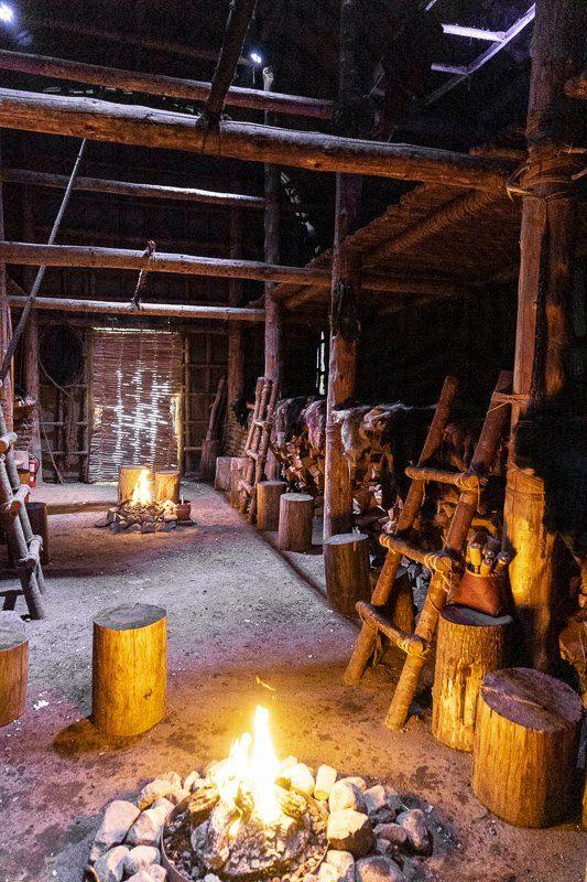 Visiter la maison longue du musée Huron-Wendat Premières Nations de Wendake Québec