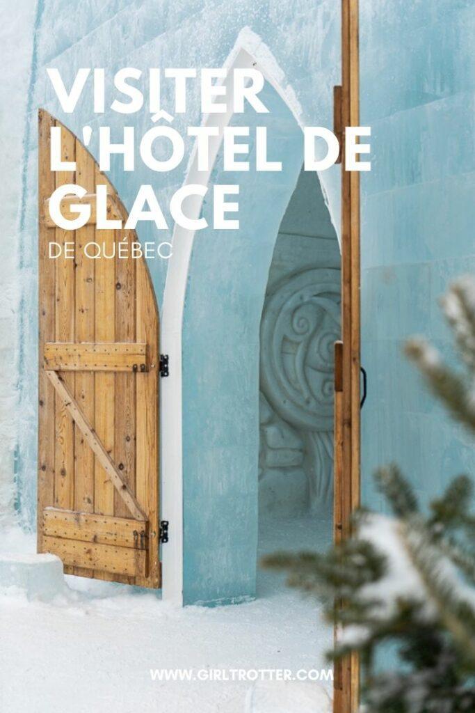 Visiter l'Hôtel musée de glace de Québec, une sortie familiale