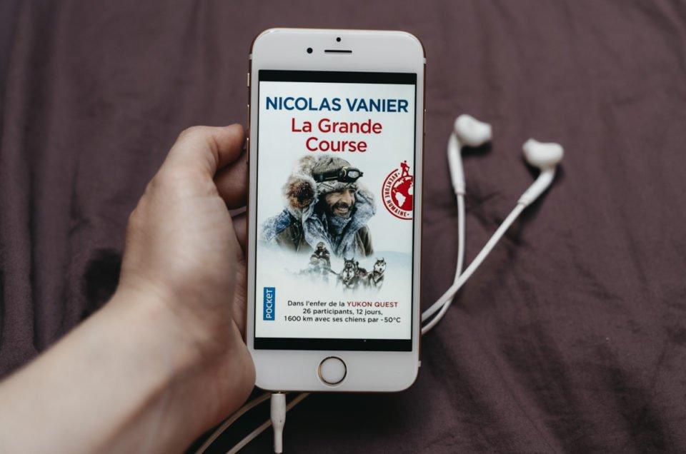 La Grande course, un récit d'aventure givré, par Nicolas Vanier