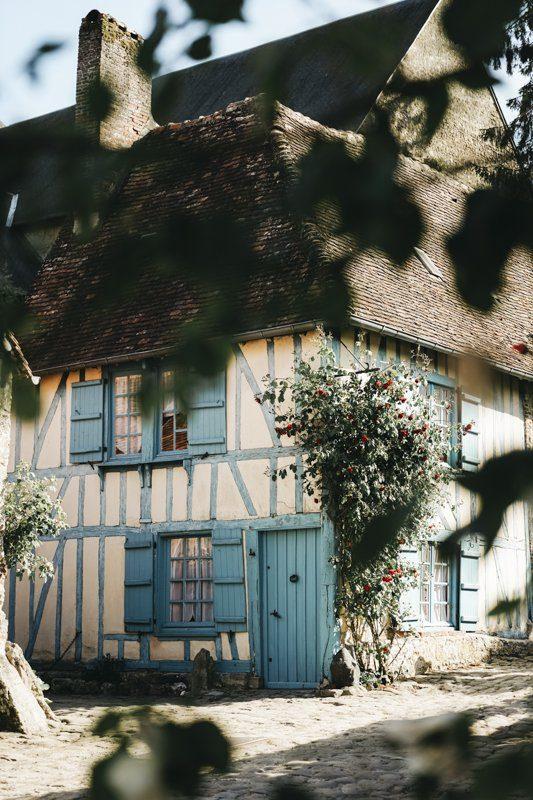 La Maison bleue de Gerberoy