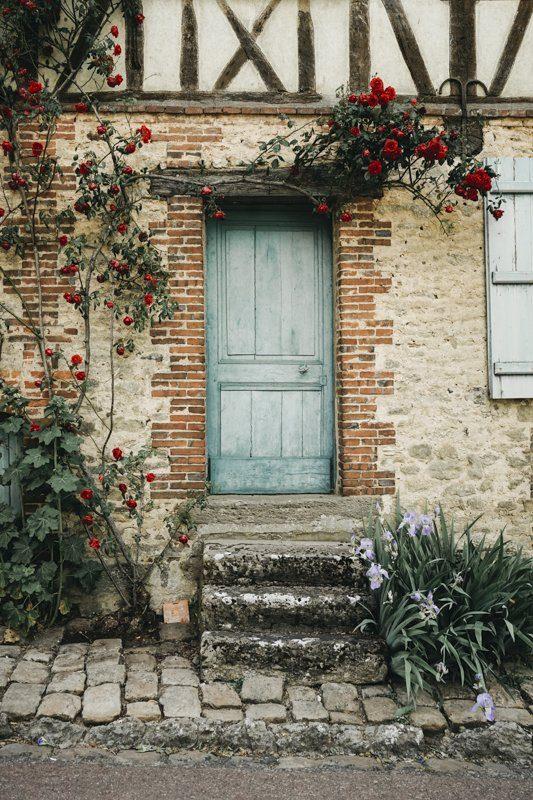 Les maisons de charme de Gerberoy