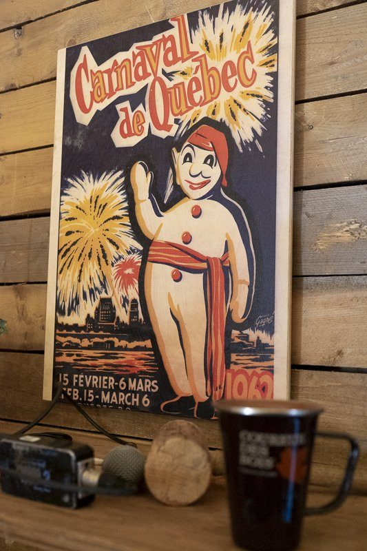 Affiche du Carnaval de Quebec 1962
