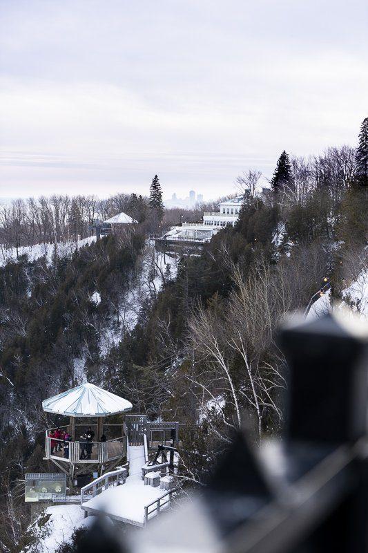 Chutes de Montmorency - Visiter Quebec, Canada