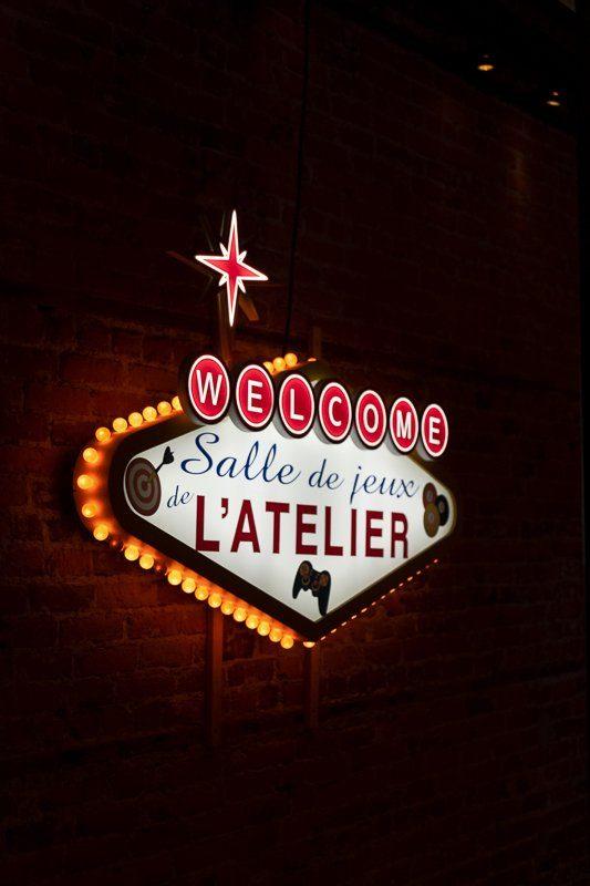 Restaurant l'Atelier, ville de Quebec, Canada