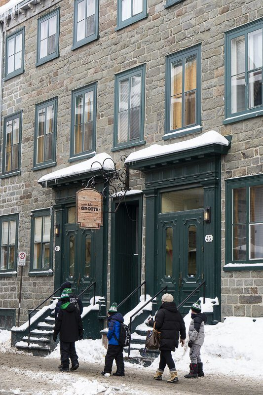 Visiter la ville de Québec, Rue Saint-Louis, Canada
