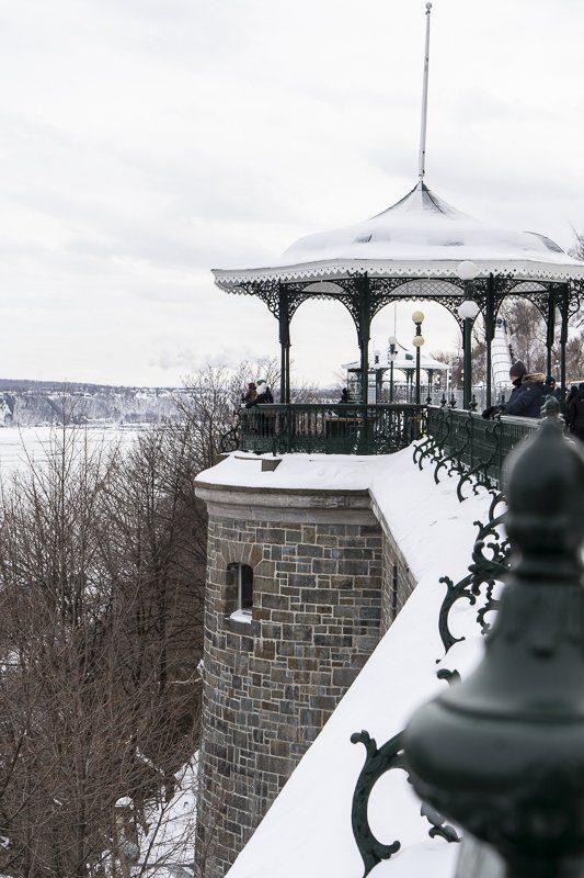Visiter la ville de Québec, Terrasse Dufferin, Canada