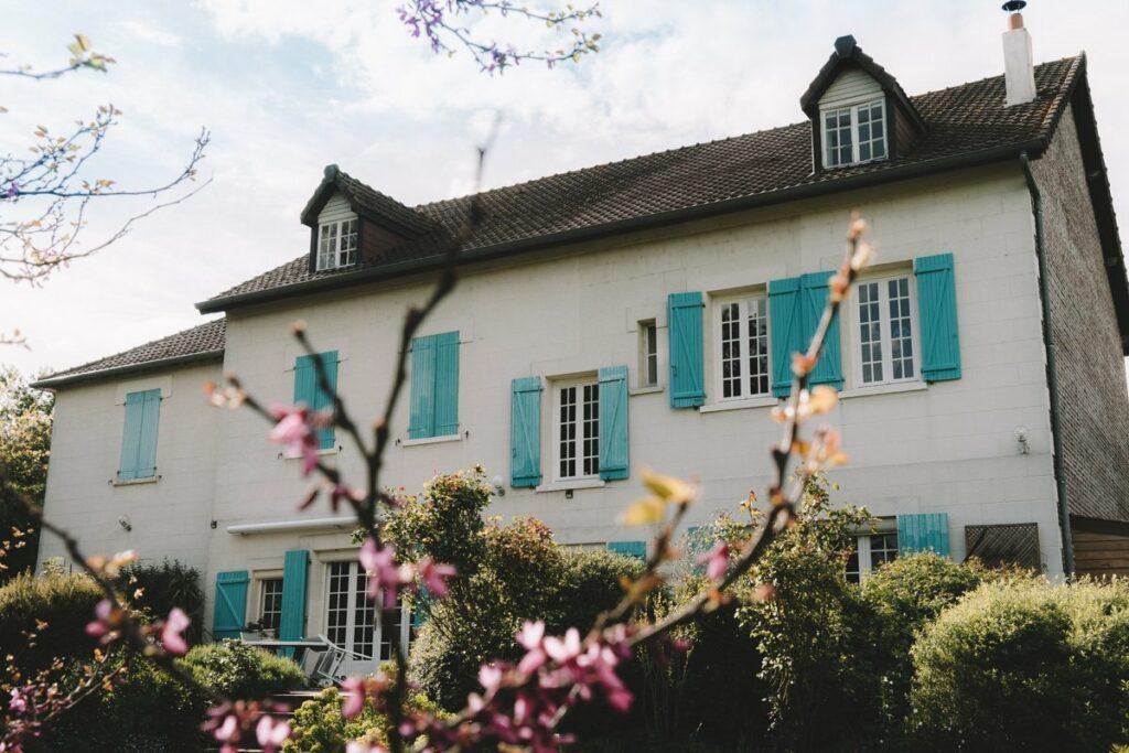 Gite campagne La Maison dans la Prairie à Bernot, hébergement touristique dans l'Aisne - Hauts-de-France