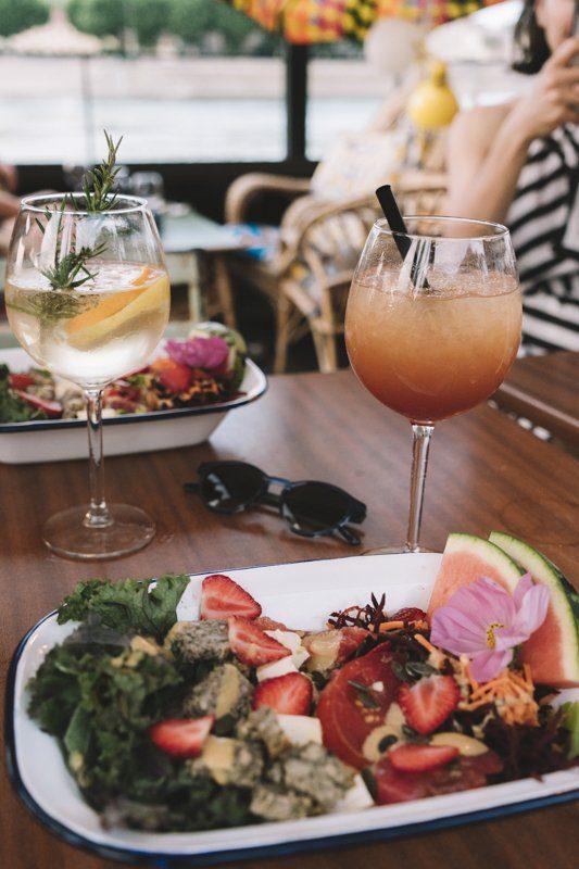 Restaurant péniche Slow food café à Tournon-sur-Rhone en Ardèche