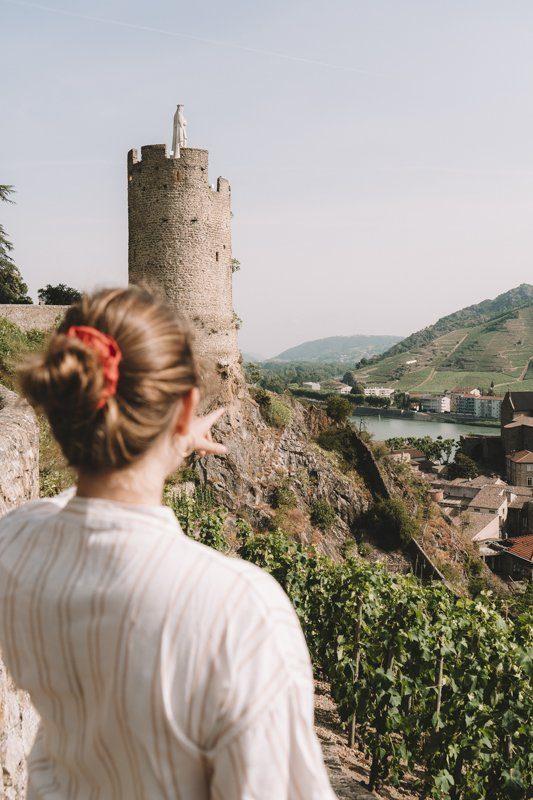 Sentier des tours Tournon sur Rhone Ardèche